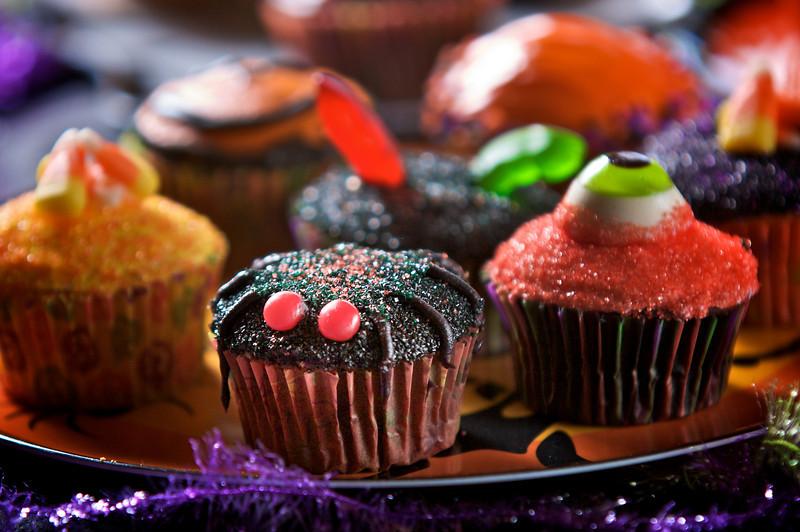 Patty's Halloween cupcakes