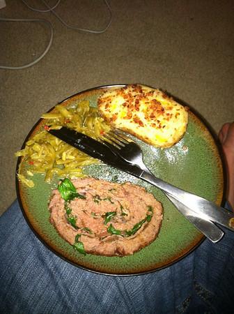 Dinner from MJ's in Hartford