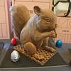 Milk chocolate squirrel