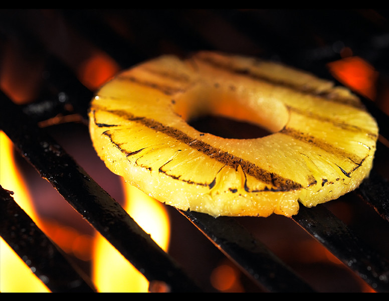 Grilled Pineapple Ring