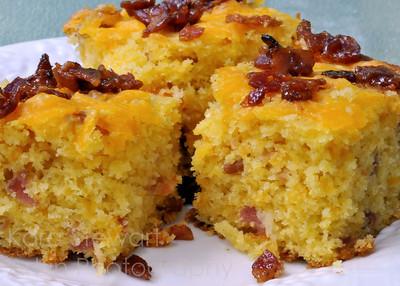 Bacon Cheddar Cornbread