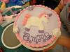 Cake #3: Wilton class cake to practice roses