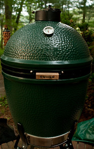What's cooking on the Big Green Egg?  Fish for fish tacos!