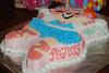 Cake #4: Fancy Nancy for Emma's birthday