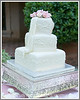 A lovely wedding cake