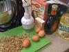 Bunco prep #2: Amaretto-Pecan bundt cake