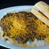 Black chili with cheese at the Mass. Ave. Yats