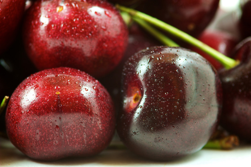 It's cherry season in the US.  Yum!