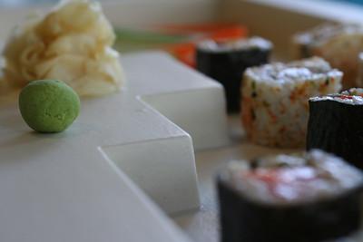 Sushi (Architectural plate design)