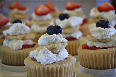 4th of July Vegan Cupcakes!