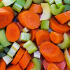 Carrots and Celery<br /> Today was a Chicken 'n Dumplings day.