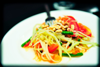 Papaya Salad (Som-tam)