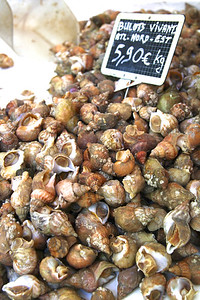 MAY 18 PARIS MARKETS So many varieties of snails and shellfish