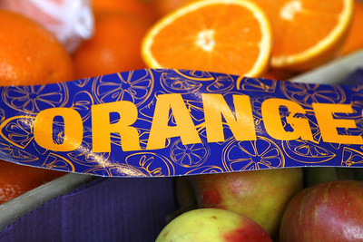 MAY 18 PARIS MARKETS ORANGE...but of course!!