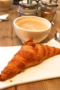 PARIS, May 14, 2013 We each ordered 2 soft boiled eggs and a fresh croissant for breakfast.  I had a giant coffee