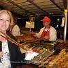 Skewered Lamb - Night Food Market in Beijing