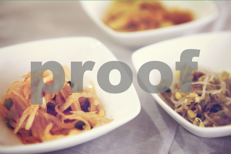Papaya  Salad & Bean Sprouts with Soft Tone, White Background