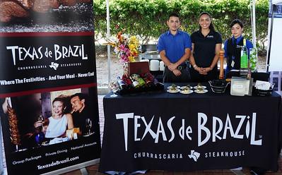 Texas de Brazil - Angelica, Gabriel and Isabella