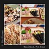 Lobster roll and hibachi chicken from Benihana