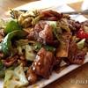 Twice Cooked Pork, Sungari Dragonwell (Portland)