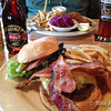 Burgers from Golden Valley Brewing, Beaverton, OR
