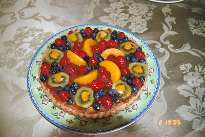 Fruit Tart Creations
