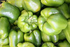 Green bell peppers, fresh
