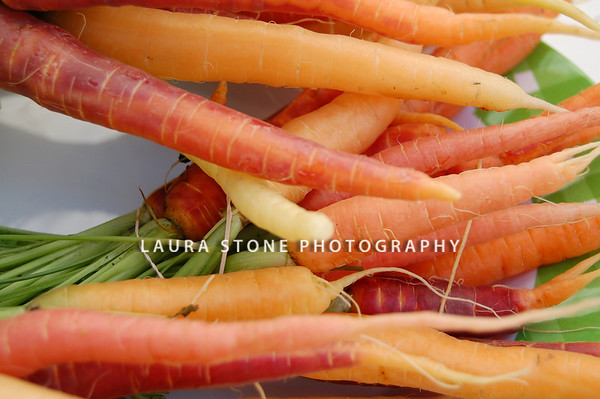 Colorful carrots.