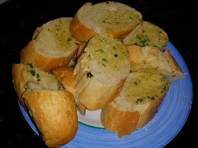 Garlic Bread, from Tesco  07/12/14
