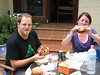 Simon & Holly chow down with a couple of Marrickville Mong Burgers.