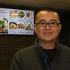 Gene Wu of Lexington, owner of Gene's Chinese Flatbread Cafe, formerly in Chelmsford and now at locations in downtown Boston and Woburn, at what will be his third restaurant at 175 Littleton Rd in Westford.  (SUN/Julia Malakie)