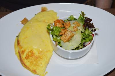 Linda's one egg omelet