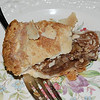 Donna Neuberger's apple pie with hickory nuts.  Baked for a church bake sale, June 11, 2010. (to Alma 1/25/11)