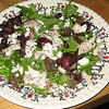 Salad with trout, feta cheese<br /> May 2010