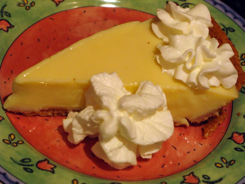"Key Lime Pie<br /> <br />  <a href=""http://www.foodnetwork.com/recipes/emeril-lagasse/key-lime-pie-recipe/index.html"">http://www.foodnetwork.com/recipes/emeril-lagasse/key-lime-pie-recipe/index.html</a>"