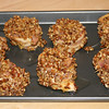 """Pecan-Crusted Pork Tenderloin Pinwheels with Carolina Mustard Sauce (before the oven)<br /> <br />  <a href=""""http://www.epicurious.com/recipes/food/views/Pecan-Crusted-Pork-Tenderloin-Pinwheels-with-Carolina-Mustard-Sauce-352954"""">http://www.epicurious.com/recipes/food/views/Pecan-Crusted-Pork-Tenderloin-Pinwheels-with-Carolina-Mustard-Sauce-352954</a>"""
