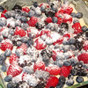 """Late Summer Berry Torte (before the oven)<br /> <br />  <a href=""""http://www.kingarthurflour.com/recipes/late-summer-berry-torte-recipe"""">http://www.kingarthurflour.com/recipes/late-summer-berry-torte-recipe</a>"""