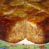 """Banana Upside-Down Cake<br /> <br />  <a href=""""http://www.epicurious.com/recipes/food/views/Banana-Upside-Down-Cake-2516"""">http://www.epicurious.com/recipes/food/views/Banana-Upside-Down-Cake-2516</a>"""