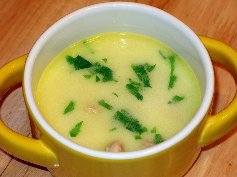 "Velvety Lemon Chicken Soup<br /> <br />  <a href=""http://www.epicurious.com/recipes/food/reviews/Velvety-Lemon-Chicken-Soup-14580"">http://www.epicurious.com/recipes/food/reviews/Velvety-Lemon-Chicken-Soup-14580</a>"