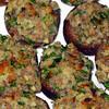 """Stuffed Mushrooms<br /> <br />  <a href=""""http://www.epicurious.com/recipes/food/views/Stuffed-Mushrooms-107963"""">http://www.epicurious.com/recipes/food/views/Stuffed-Mushrooms-107963</a>"""