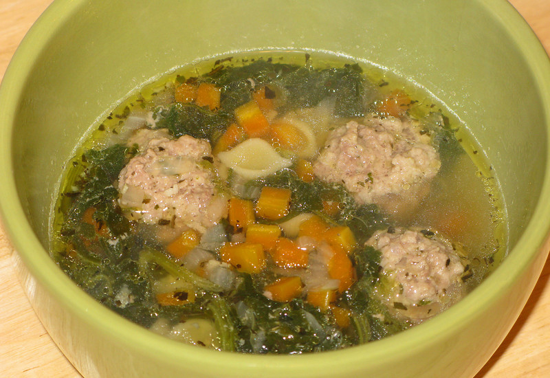 """Italian Wedding Soup<br /> <br /> <a href=""""https://www.kingarthurflour.com/blog/2010/01/25/this-is-probably-not-your-moms-italian-wedding-soup-and-thats-ok"""">https://www.kingarthurflour.com/blog/2010/01/25/this-is-probably-not-your-moms-italian-wedding-soup-and-thats-ok</a>"""
