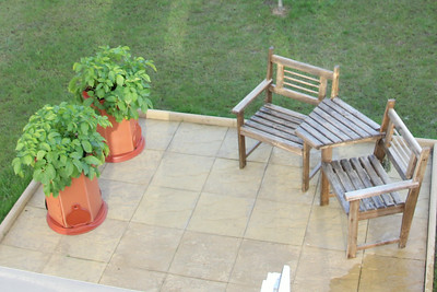 Aerial view of the planters. 29 June 2014