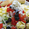 """Salad with cut-up boiled egg, tomatoes, olives, onions, and turkey at my workplace (September 19th 2013)<br /> <br /> Others...<br /> <a href=""""http://allrecipes.com/recipes/salad/"""">http://allrecipes.com/recipes/salad/</a><br /> <br /> 10 Health Benefits of Onion - YouTube<br /> <a href=""""https://www.youtube.com/watch?v=Qqy8Sk5ttFU"""">https://www.youtube.com/watch?v=Qqy8Sk5ttFU</a><br /> <br /> <a href=""""https://www.medicalnewstoday.com/articles/276714.php"""">https://www.medicalnewstoday.com/articles/276714.php</a><br /> <br /> Amazing Benefits Of Onions<br /> <a href=""""https://www.youtube.com/watch?v=vkm7ZBVpYbE"""">https://www.youtube.com/watch?v=vkm7ZBVpYbE</a><br /> <br /> NATIONAL ONION DAY<br /> <a href=""""https://nationaldaycalendar.com/national-onion-day-june-27/"""">https://nationaldaycalendar.com/national-onion-day-june-27/</a><br /> Through all the years — and sometimes tears — National Onion Day on June 27 recognizes the flavor and aroma the bulb of the allium family brings to numerous recipes.<br /> <br /> Whether we choose a sweet, white, red, or the ever-favorite yellow, we count on the onion to enhance the flavor of our savory recipes. They pair well with meats and salads, making the ever-versatile onion a cooking powerhouse. Added to eggs or pickled, it's the required seasoning next to our salt and pepper.<br /> <br /> While the onion packs in the flavor with very few calories, it's also rich in vitamin C and antioxidants. Add onions to every meal to increase your dietary fiber and vitamin B6. As a bonus, you won't be adding any cholesterol. With so many varieties to choose from, onions provide plenty of opportunities for us to relish the benefits.<br /> <br /> As an industry, onions add $6 billion to U.S. markets. From farm to distribution to grocers and restaurants, onions generate economic growth throughout the year.<br /> HOW TO OBSERVE<br /> <br /> Be sure to add fresh onion for a punch of flavor to your favorite dish. No matter how you slice it, the onion bri"""