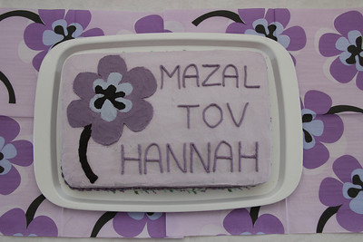 Hannah Jerusalem bat mitzvah cake