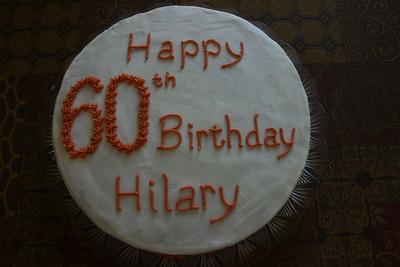 Hillary H 60th birthday cake