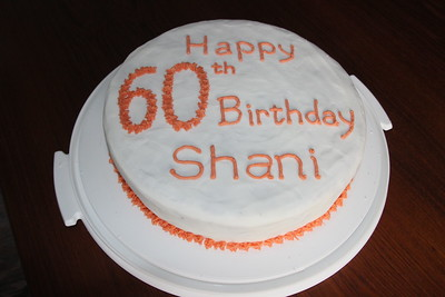 Shani 60th birthday cake