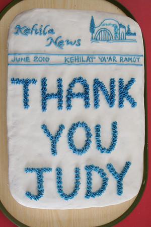 thank you Judy