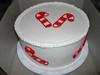 Christmas-Candy Cane Cake