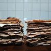 Ikkje noko kjøpe-flatbrød som kan måla seg med heimalaga... Da er og fort gjort når kåno kan handtera kjevle..ca 1.5 time på 37 leiva..