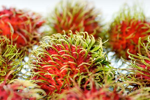 Rambutan frukt til desert.